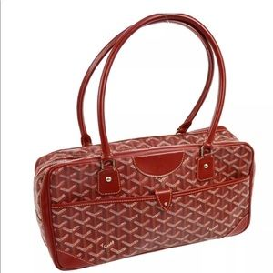 authentic Goyard Saint Martin Shoulder Bag